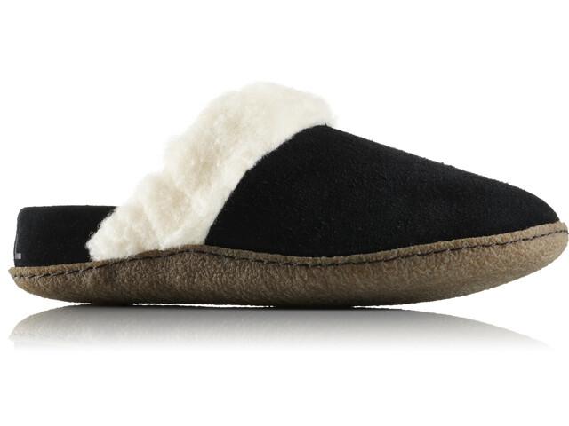 Sorel Nakiska Slide II Zapatillas de Casa Mujer, black/natural